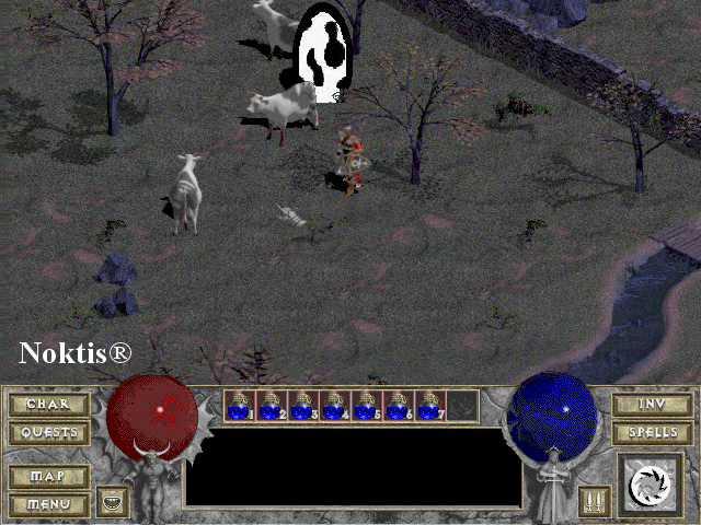Diablo 1 Cow Level