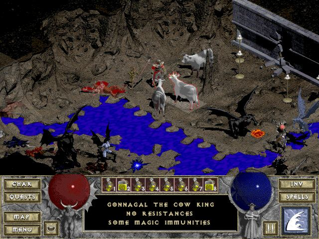 Diablo 1 Cow Level
