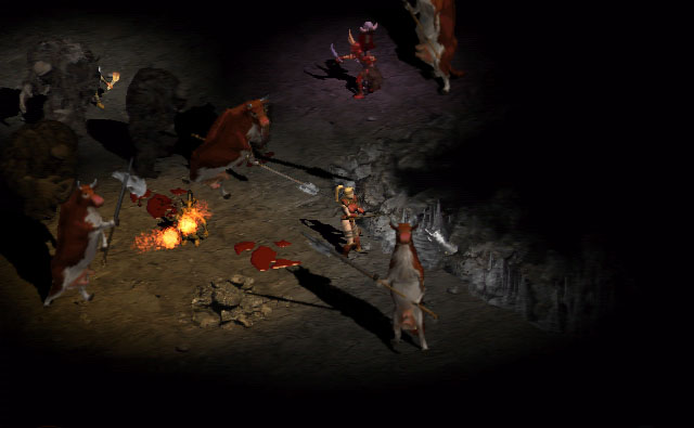 Diablo 2 Cow Level April Fool's Day