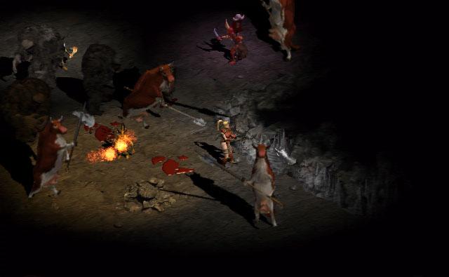 Diablo 2 Cow Level April Fool's Day