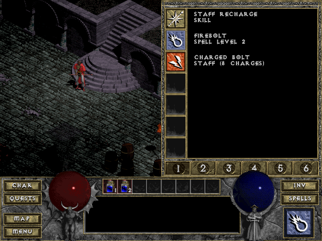 spellbook DIablo 1 Beta