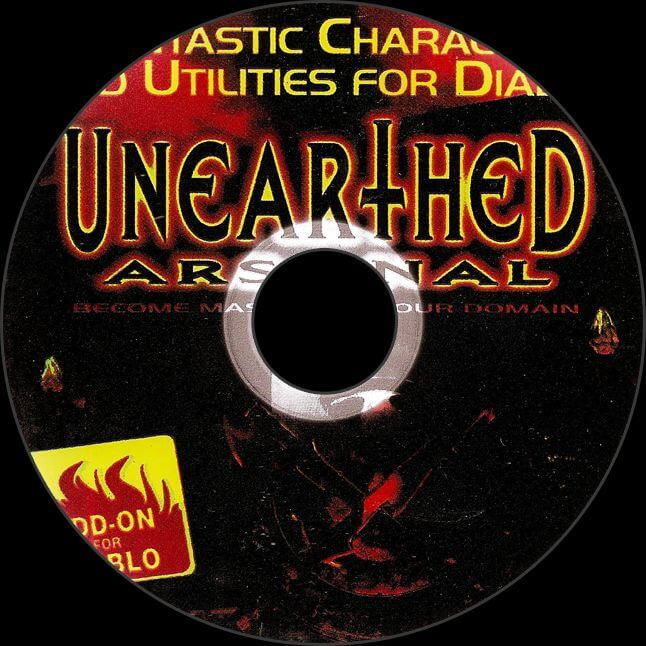 Unearthed Arsenal CD Disc
