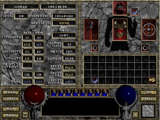 Screen 4 - Diablo
