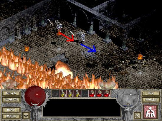 Screen 1 - Diablo
