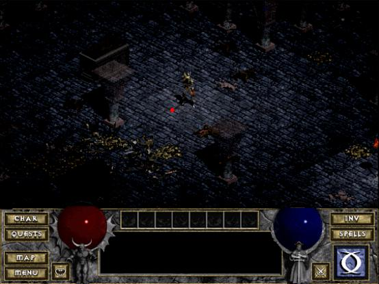 Diablo strzala 3
