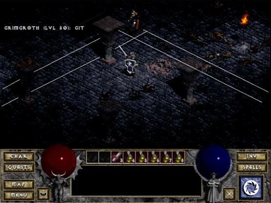 Diablo strzala 4