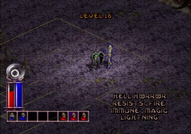 Diablo PSX Hell Horror